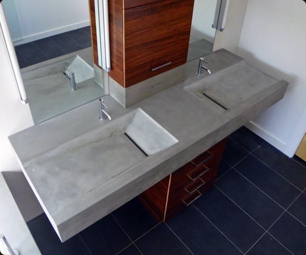 denver colorado concrete sinks concrete pete. Black Bedroom Furniture Sets. Home Design Ideas
