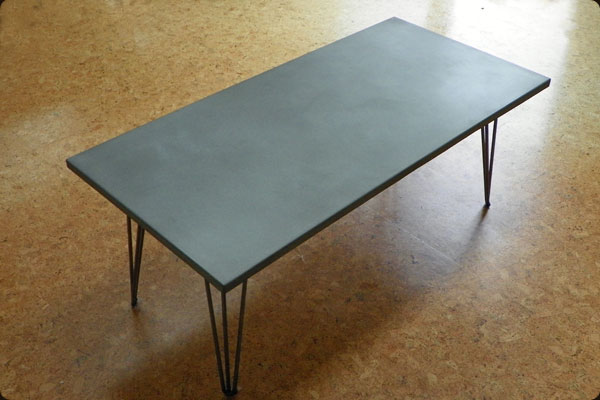 Furniture Legs Denver denver concrete coffee table « concrete pete
