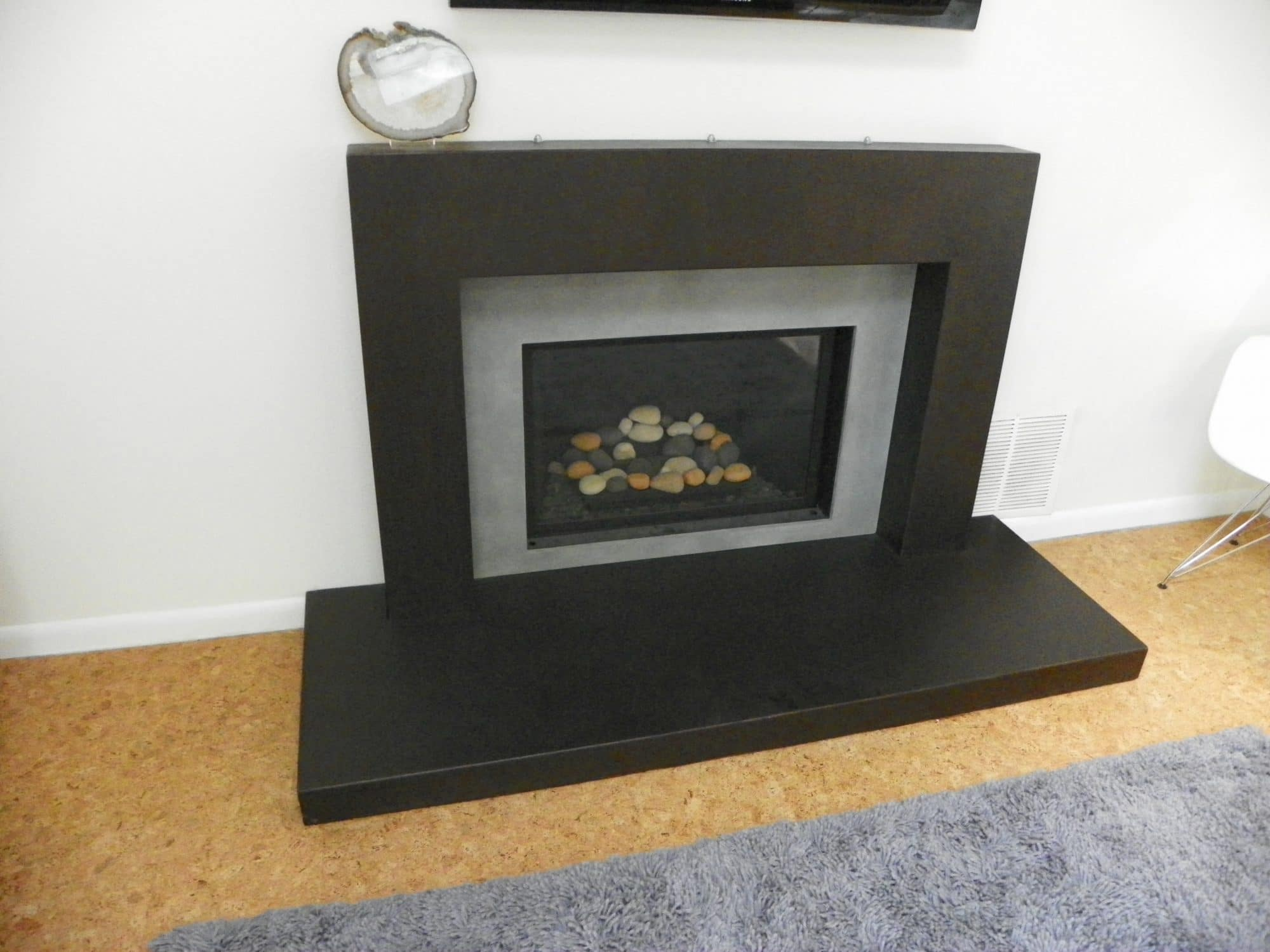 pin the for fireplace pinterest remodel concrete home surround linear