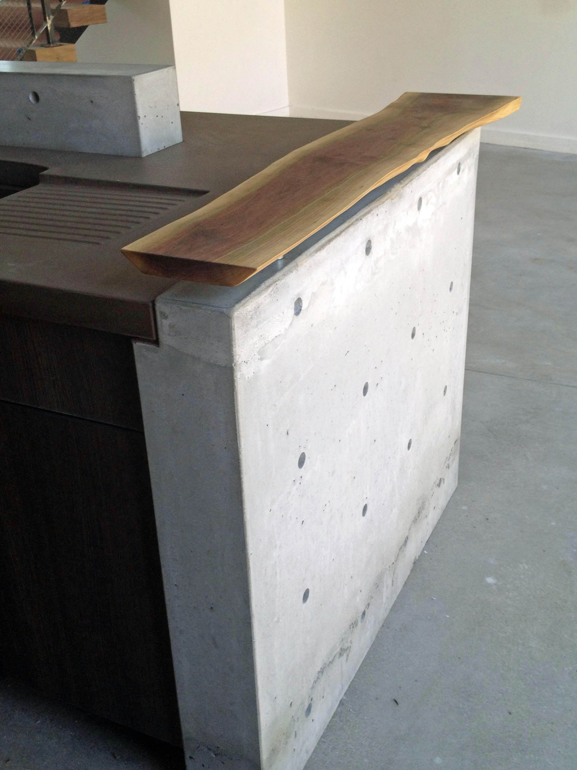 Concrete Pete Concrete Countertops And Wall Elements