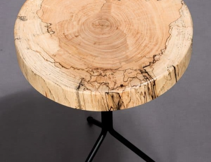 Spalted Maple end table