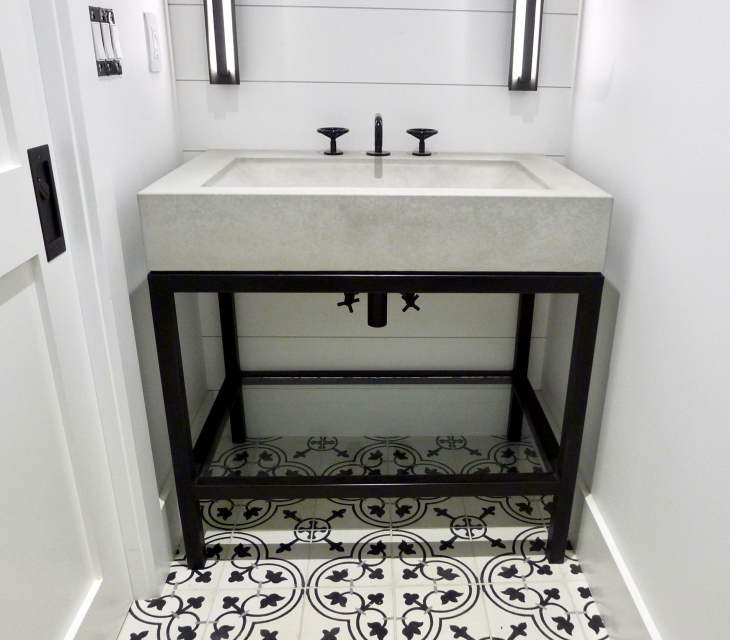 North Boulder concrete sink