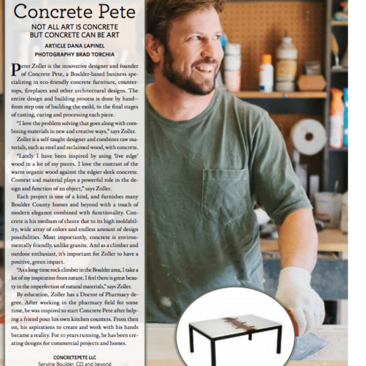 concretepete boulder home and garden magazine
