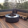 charcoal firepit