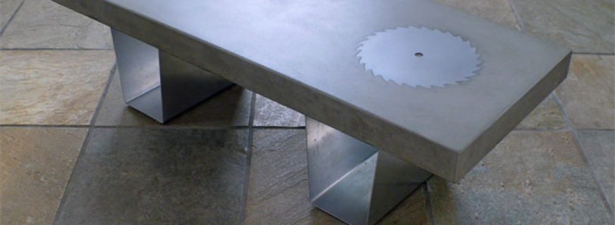 'SAWBLADE' COFFEE TABLE