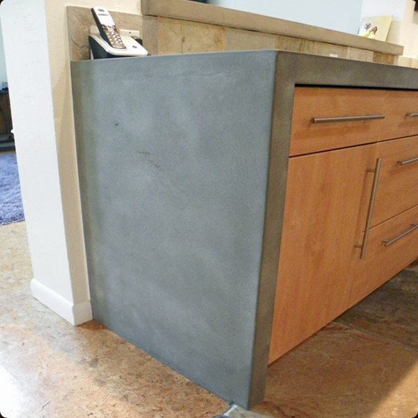 Concrete Countertop Waterfall Edge