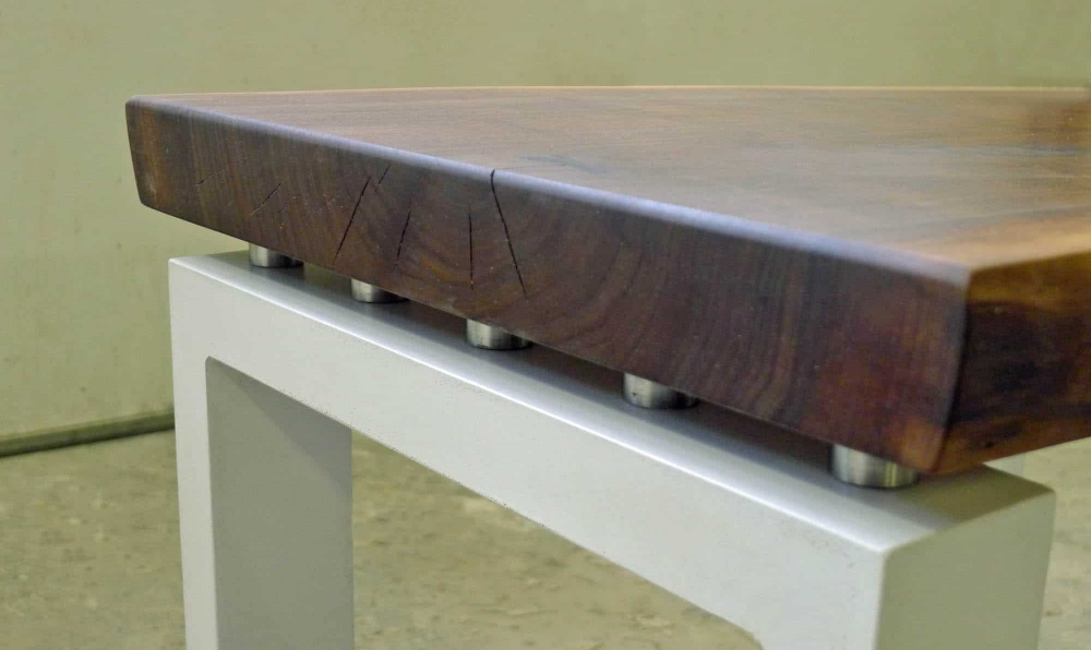 concrete and walnut end table 4