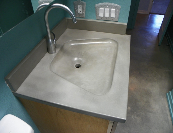 Fabric Formed Sink, Boulder