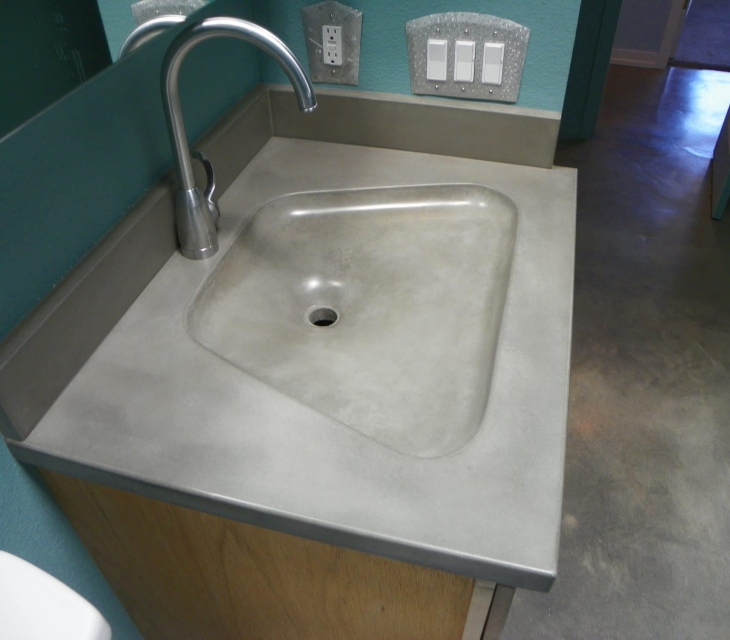Fabric Formed Sink, Boulder