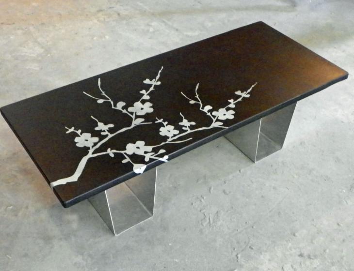 Cherry Blossom table