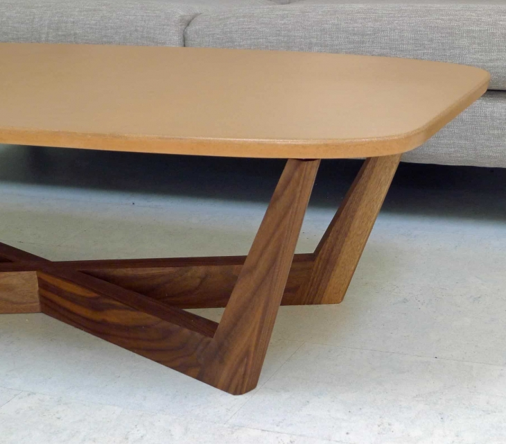 Domino Concrete Coffee Table