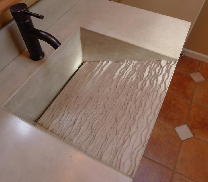 Contour Ramp Sink