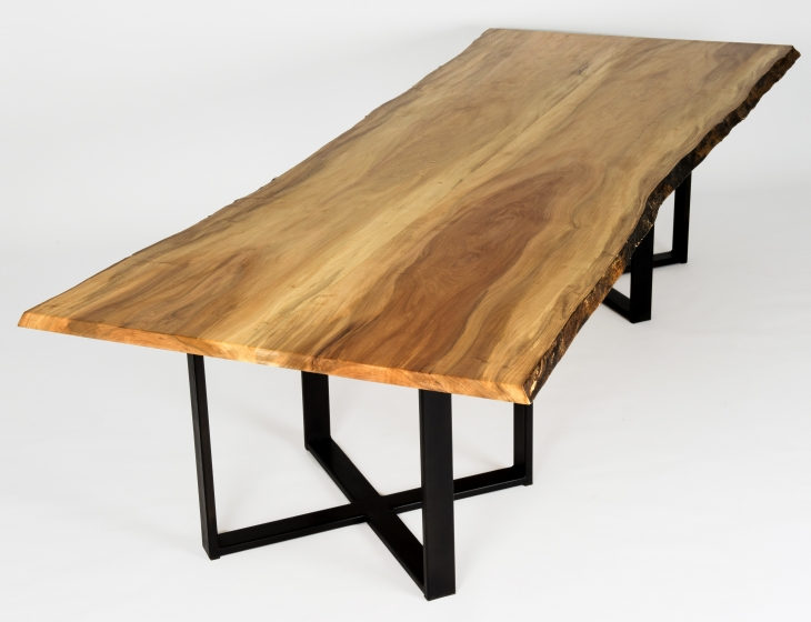 Live edge maple table