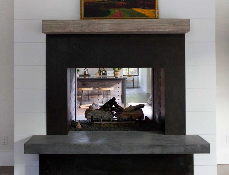 Denver concrete hearth
