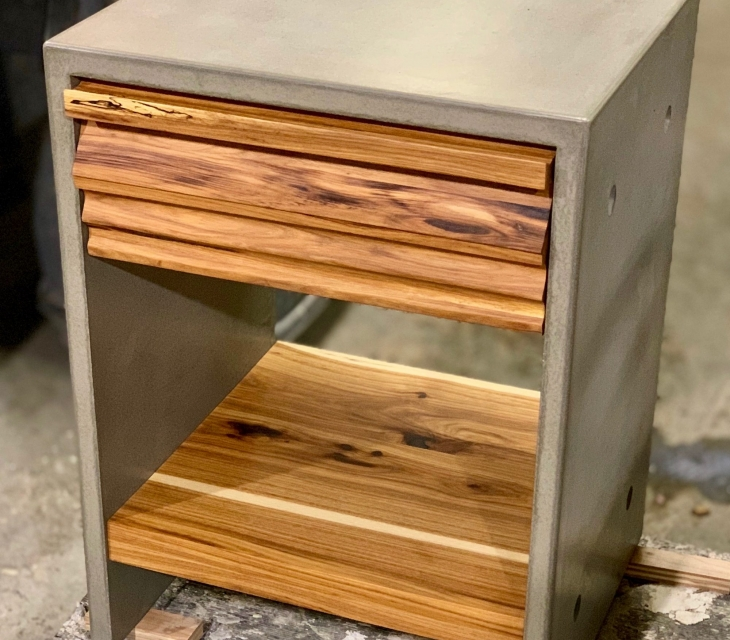 concrete night stands