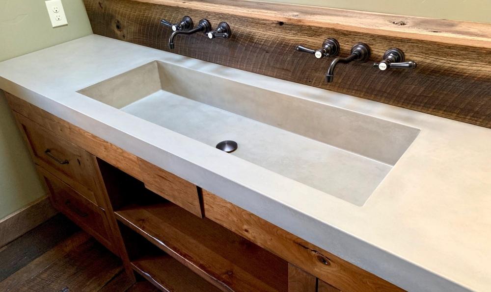 mod rustic sink