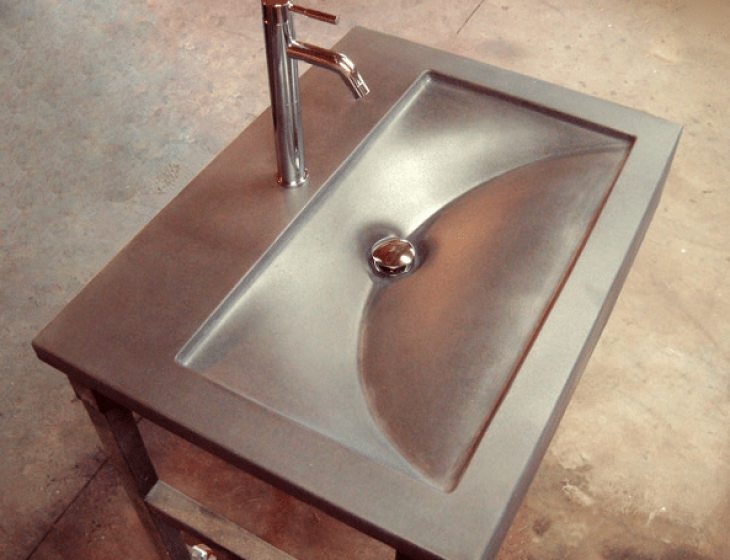 Organic modern sink