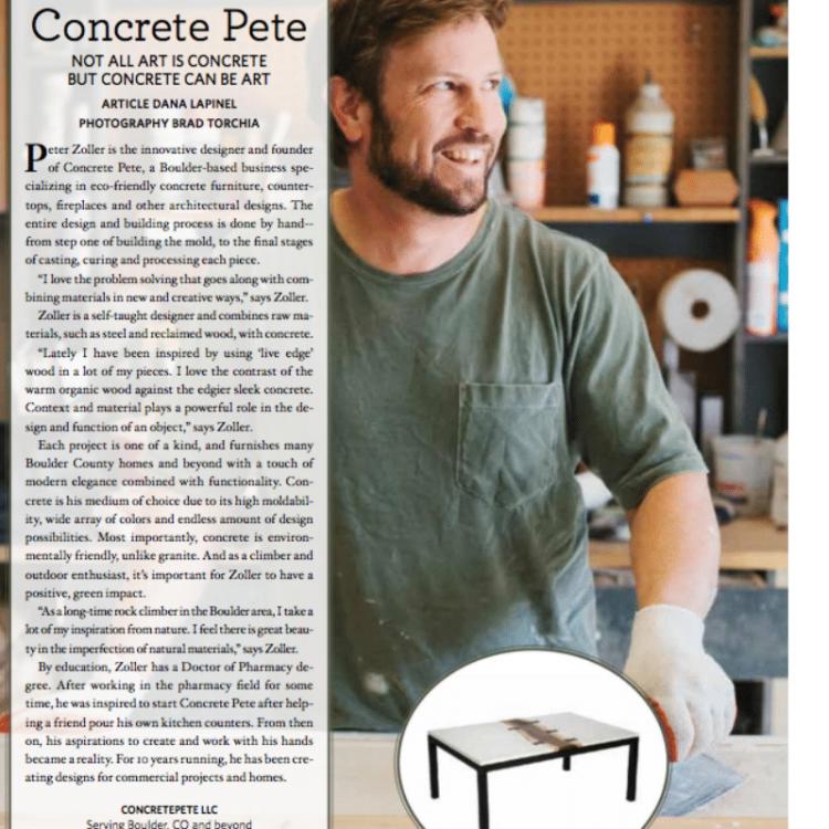 concretepete boulder home and garden magazine