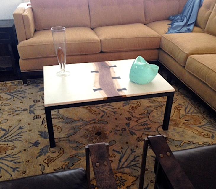 'Piper' table in situ