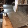 concrete chaise lounge