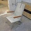 concrete chair