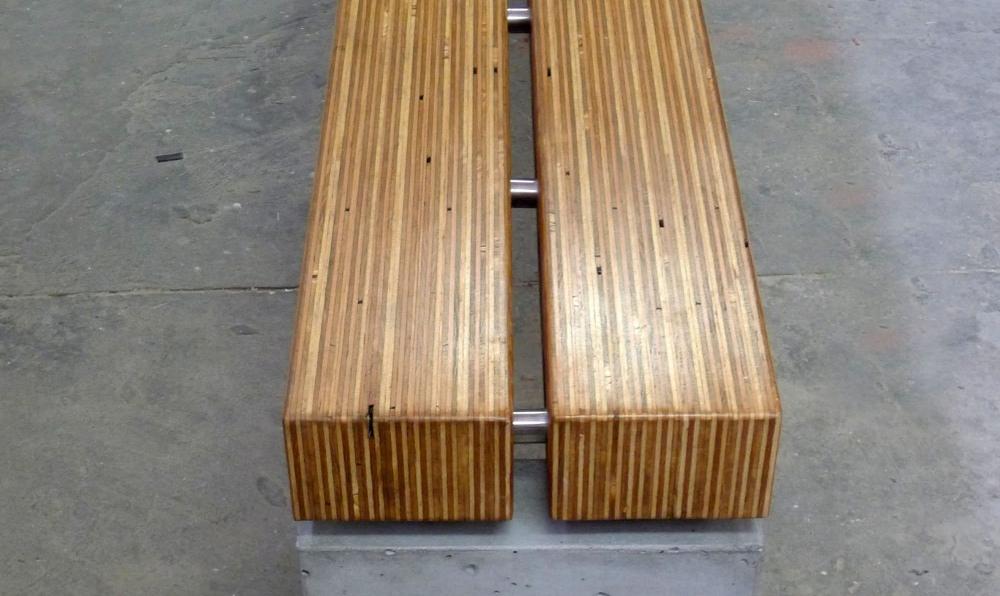 plylam bench 2