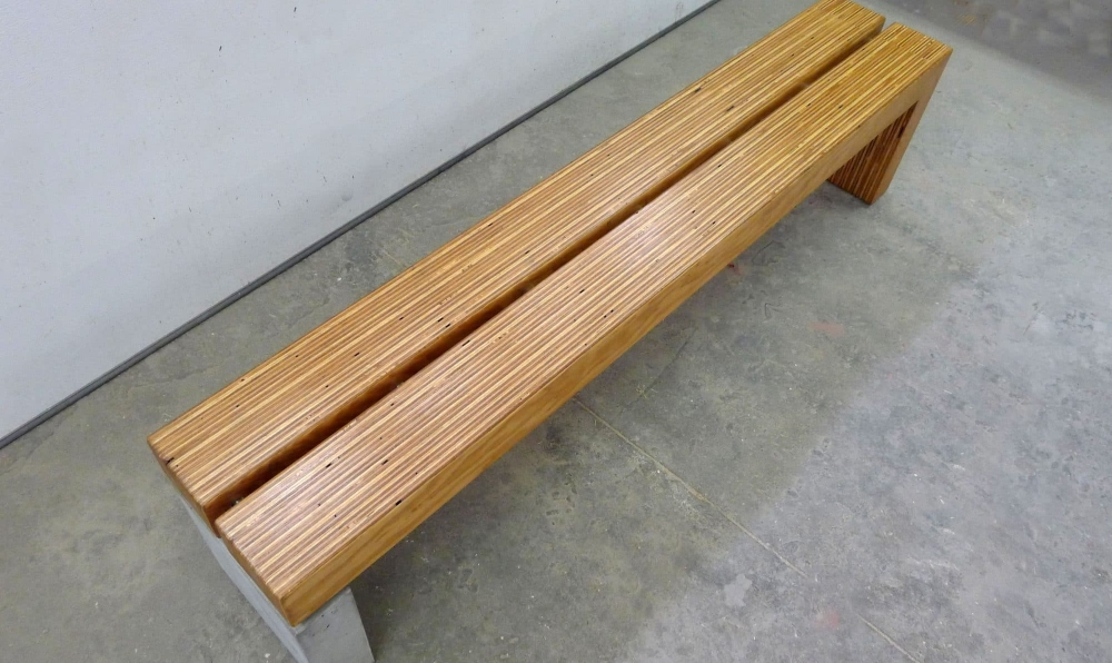 plylam bench 6